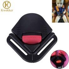 Фотография KWOKKER Car Seat Belt Baby Latch Seatbelt Extender Safety Belt Clip for Child Lock Buckle Seat Protector Auto Pad Belt Strap