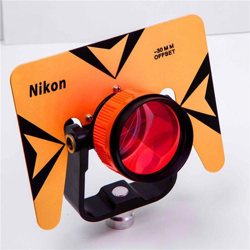 NEUE Gelbe Farbe Einzelne Prisma mit Tasche für Total Station 5 8x11 Gewinde-in Theodolite aus Werkzeug bei AliExpress - 11.11_Doppel-11Tag der Singles 1