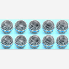 10 Pcs Nieuwe Vervanging Ball Head Mesh Microfoon Grille Voor Shure BETA58 BETA58A Sm 58 SM58S SM58LC