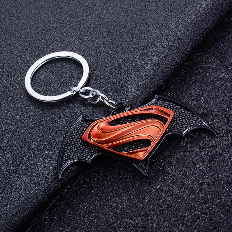 Moda Super hero Marvel Batman Uomo Portachiavi Gingillo Super hero Spiderman Auto Chiave Catena Captain America Portachiavi Regalo Dei Monili