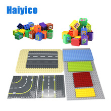 Big Dot 32-512 Hole Baseplate Building Blocks Accessories DIY Toys For Children Gift Compatible With Duplo Basic Teaching Bricks