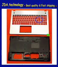 Новинка/оригинальный чехол с английской клавиатурой и нижней основой для Asus N56 N56SL N56VM N56V чехол с нижней основой и подставкой для рук верхний ...