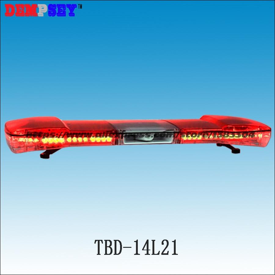 Dc12v/24 V Rote Led Super Helle Warnung Lichter Polizei/feuer Licht Bar Tbd-14l21 Led Notfall Warnlichtbalken Mit 100 Watt Lautsprecher