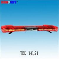 Tbd 14l21 светодиодный оповещения о чрезвычайных ситуациях Light бар с 100 Вт динамик DC12V/24 В красный светодиодный супер яркий сигнальные лампы, пол