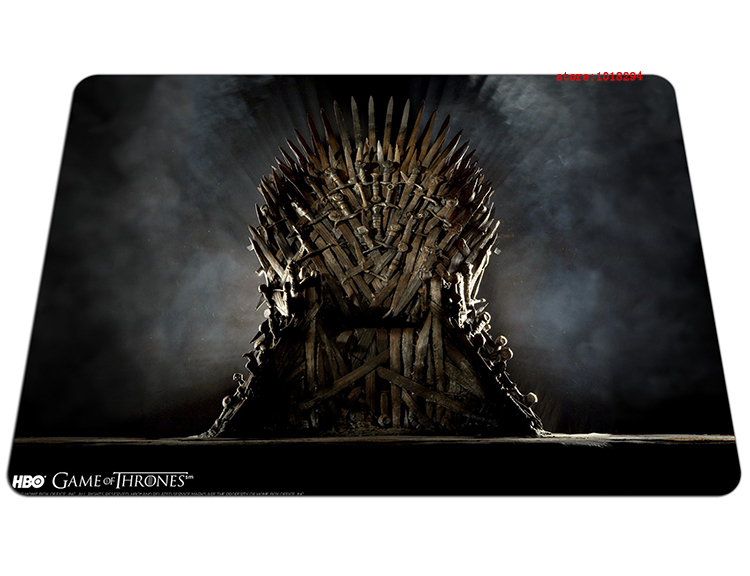 hot Game of Thrones mouse pad Imported rubber mousepads gear gaming mouse pad gamer large personalized pad mouse keyboard pad