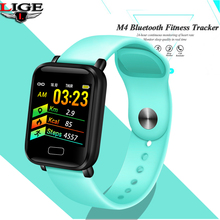 Smart Bracelet LIGE Mens Waterproof Fitness Wristband Blood Pressure Heart Rate Monitoring Pedometer Watch Ladies Android