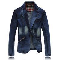 New 2013 Hot Selling Korean Small Suit Men S Fashion Denim Suits Men Cowboy Autumn New