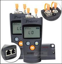 Proskit MT-7602 4 in 1 Fiber optic power meter Six wavelength Laser fiber optic tester Optical fiber Network cable tester