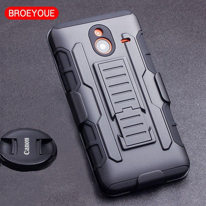 BROEYOUE Case For Nokia Lumia 640 XL Case Anti-knock Phone Cover For Nokia Lumia 640XL PC Cover For Microsoft Lumia 640 XL Case