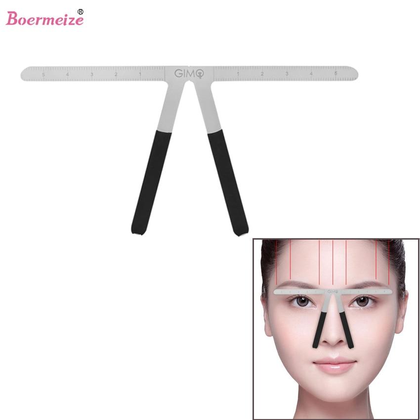 Eyebrow Ruler Permanent Makeup Location Extend Shaping Stencil Tattoo Cosmetic Beauty Eyebrow DIY Balance Ruler Tattoo Supply