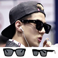 Korea Style Square Frame Glasses Hot New Vintage Fashion Summer Cool Sunglasses Women Men Brand Designer