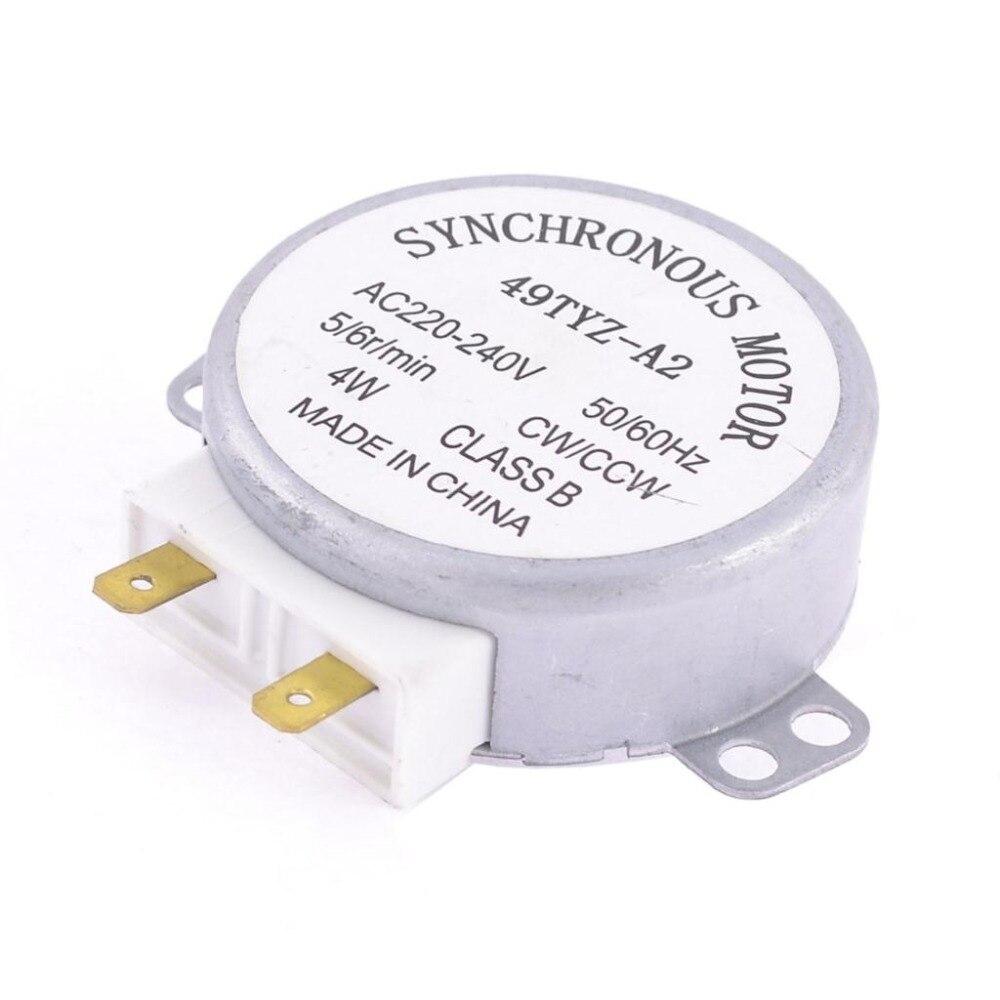 цена на 22PCS Microwave Oven Turntable Synchronous Motor CW/CCW 4W 5/6RPM AC 220-240V