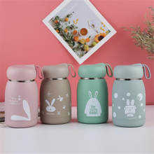320ml New Rabbit Thermo Cup Stainless Steel Kids Thermos Bottle for Water Mug Cute Thermal Vacuum Flask Children Tumbler