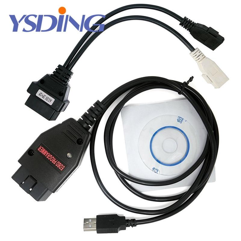 EOBD2 Programmer Galletto 1260 OBD/OBDII ECU Flasher OBDII Compatible Green PCB FTDI FT232RL Read&Write ECU Chip Tuning Tool
