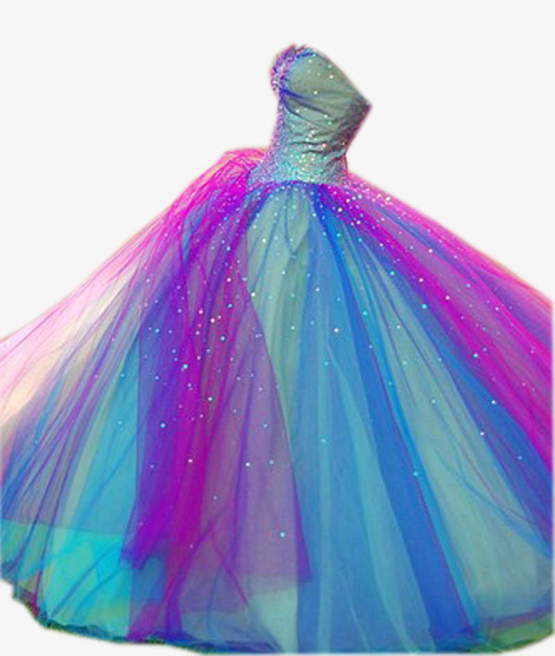 Compare Prices on Prom Dresses Rainbow- Online Shopping/Buy Low ...