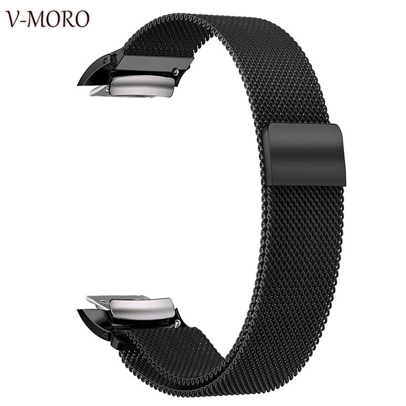 V-Moro 2018 New WATCH BANDS For Samsung Gear Fit 2 Fit 2 Pro Bands Milanese Loop Mesh Stainless Steel Gear Fit 2 Pro Strap Fit 2 смарт часы samsung gear s2 black