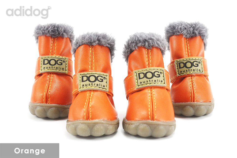 Pet Dog Shoes Winter Super Warm 4pcs set Dogs Boots Cotton Anti Slip XS 2XL Shoes for Small Pet Product ChiHuaHua Waterproof 407