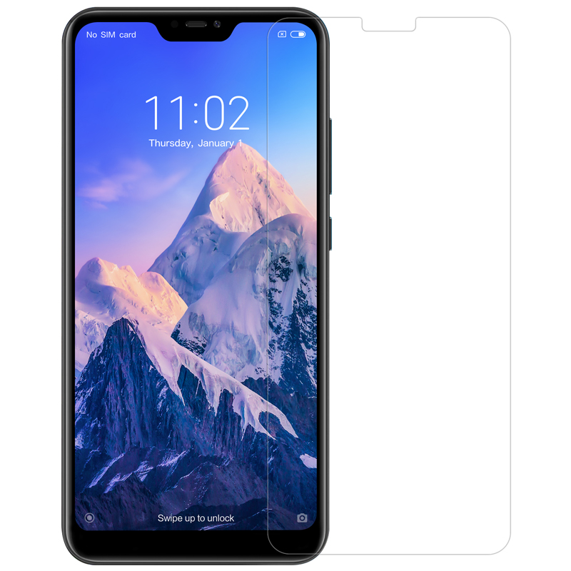 Image 2 - Tempered Glass For Xiaomi Mi A2 Lite 5.84 Nillkin Amazing H 0.33MM Screen Protector for Xiaomi Redmi 6 Pro / Mi A2 Lite Glass-in Phone Screen Protectors from Cellphones & Telecommunications on