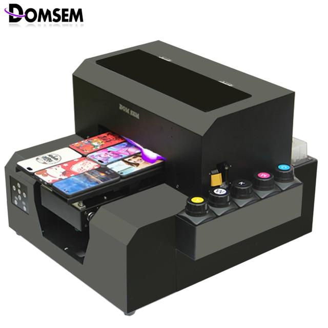 Domsem A4 Uv Printer Cell Phone Case Plastic Card Transparent