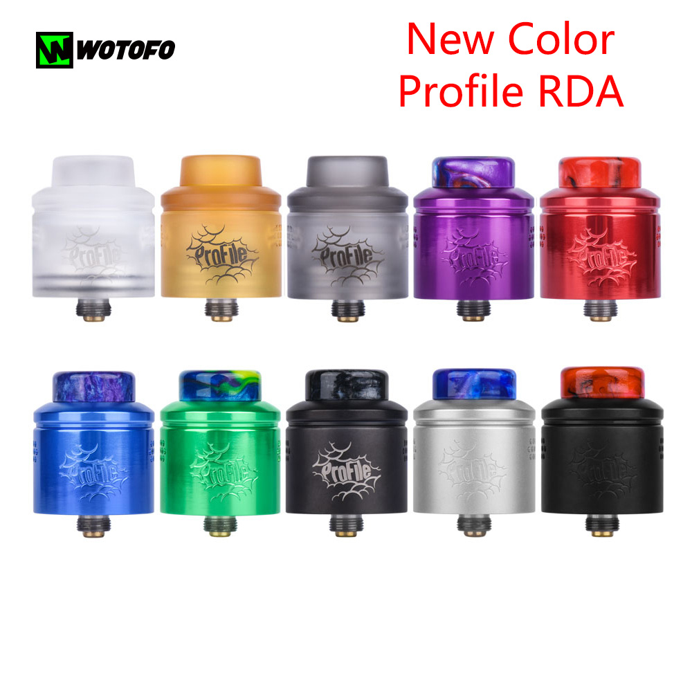 new wotofo profile rda atomizer electronic cigarette 60w for 510 box mod easy to switch between. Black Bedroom Furniture Sets. Home Design Ideas