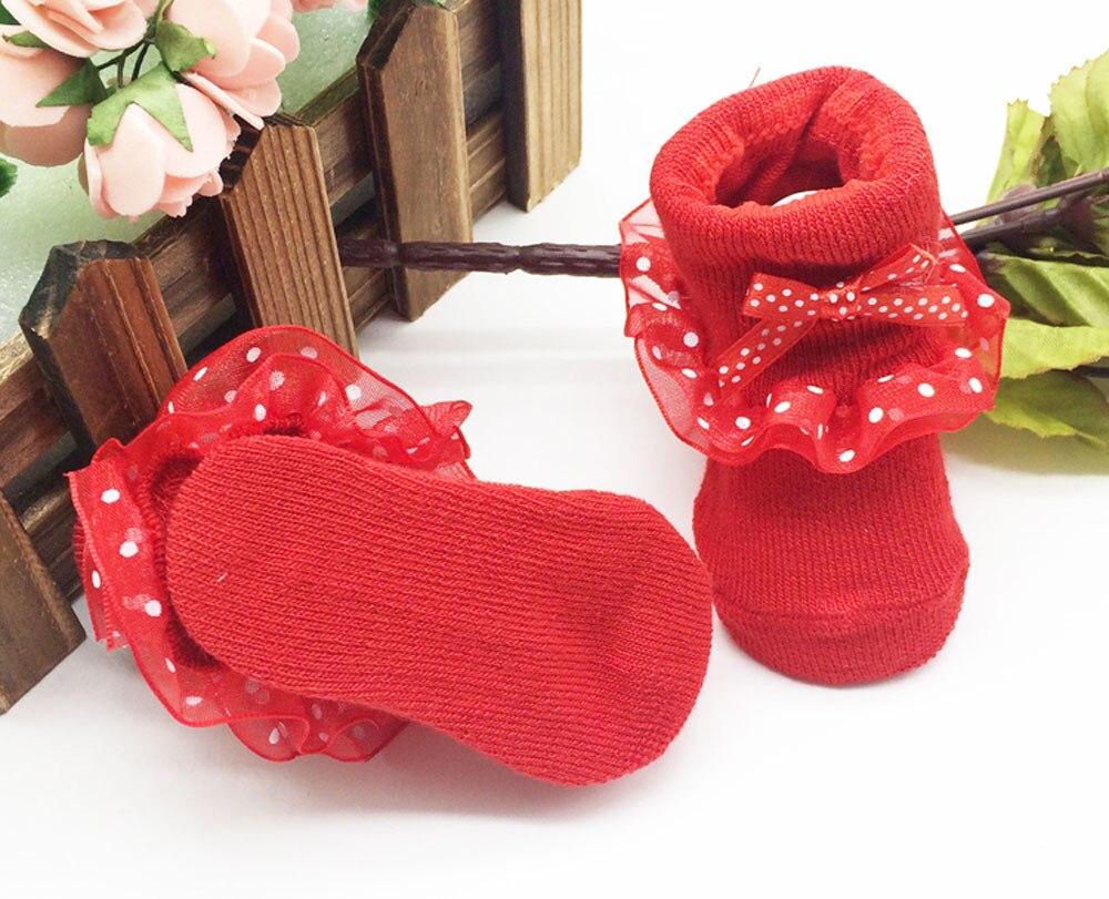 MUQGEW Bow Baby Socks Girl Socks Toddlers Combed Cotton Ankle Socks Baby Girls Bowknots Socks meia infantil menina W06