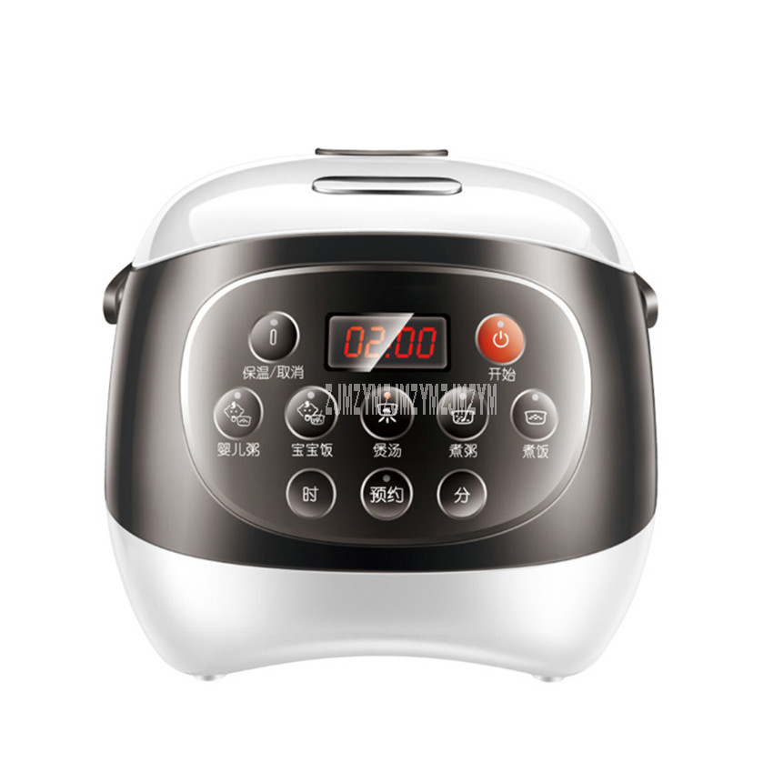 Ceramic Inner Tank 2L Intelligent LED Display Electric Rice Cooker Multi-functional Soup Congee Rice Cooking Machine FD20A-WCeramic Inner Tank 2L Intelligent LED Display Electric Rice Cooker Multi-functional Soup Congee Rice Cooking Machine FD20A-W