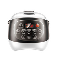 Ceramic Inner Tank 2L Intelligent LED Display Electric Rice Cooker Multi-functional Soup Congee Rice Cooking Machine FD20A-W