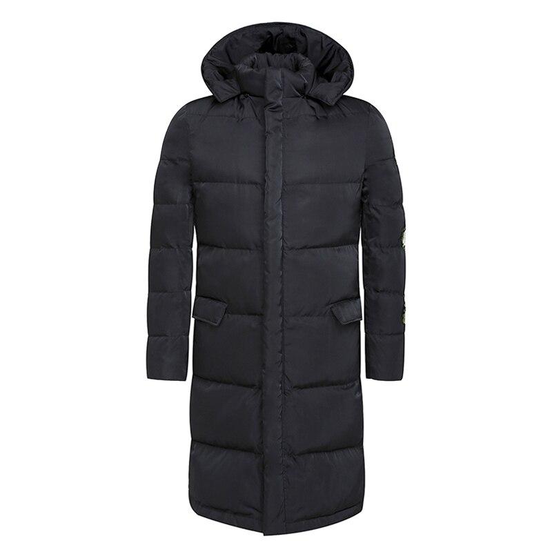 2016 Erkekler Kış Ceketler ve Coats Paltolar Jaqueta Masculina erkek Rahat Moda Slim Fit Fermuar Kapüşonlu Veste Homme Ceketler