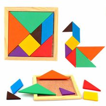 Wooden Puzzle Toys Jigsaw Color Puzzle Children's Toys Wooden Toy Youth Riddles Boxed Educational Toys Brain Teasers цены