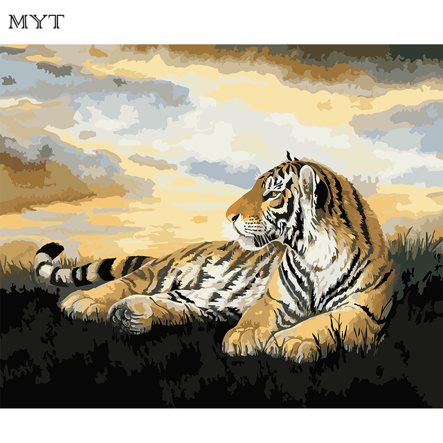 Aliexpress.com : Buy MYT Picture Diy Painting By Numbers Wall Art ...