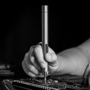 Image 3 - Original Youpin Wowstick 1f + Home essentiel électrique tournevis lumière LED en Aluminium corps téléphone bricolage réparation outils de bureau jouet