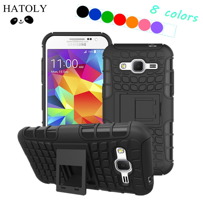 HATOLY For Samsung Galaxy Core Prime Case G360 G361H Hard Rubber Case for Samsung Galaxy Core Prime Cover For Galaxy Prevail LTE