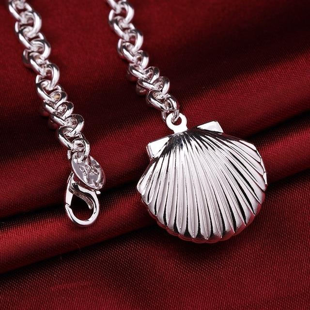 2017 New Silver Locket Bracelet 925 Jewelry Photo Frame Silver ...