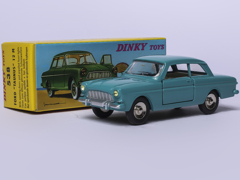 ATLAS 1/43 DINKY TOYS 538 FORD TAUNUS 12 M Alloy Diecast Car model & Toys Model for Collection jackson js32 dka m dinky page 7