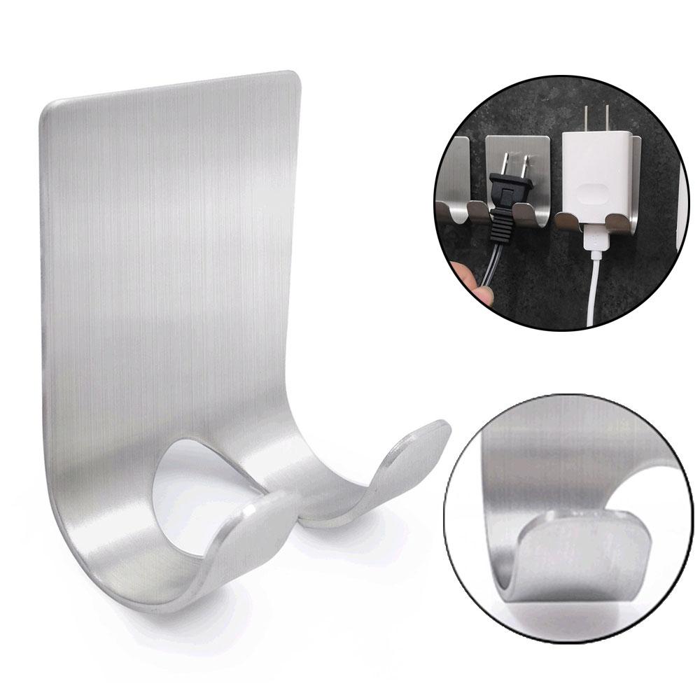 1Pcs Razor Stainless Steel Holder Wall Men Shaving Shaver Shelf Bathroom Razor Rack Wall Adhesive Storage Hook Kitchen Hanger