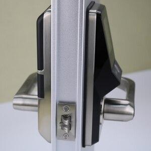 Image 2 - אלקטרוני דלת מנעול מתקדם חכם זיהוי פנים דלת מנעול אבטחה דיגיטלי מגע מסך Keyless פנים חכם דלת מנעול