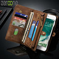 Caseme Second Layer Genuine Leather Case for iPhone 7 6 6S 6 Plus 6Plus Multi Functional 2 in 1 Stand Wallet Cover Phone Case