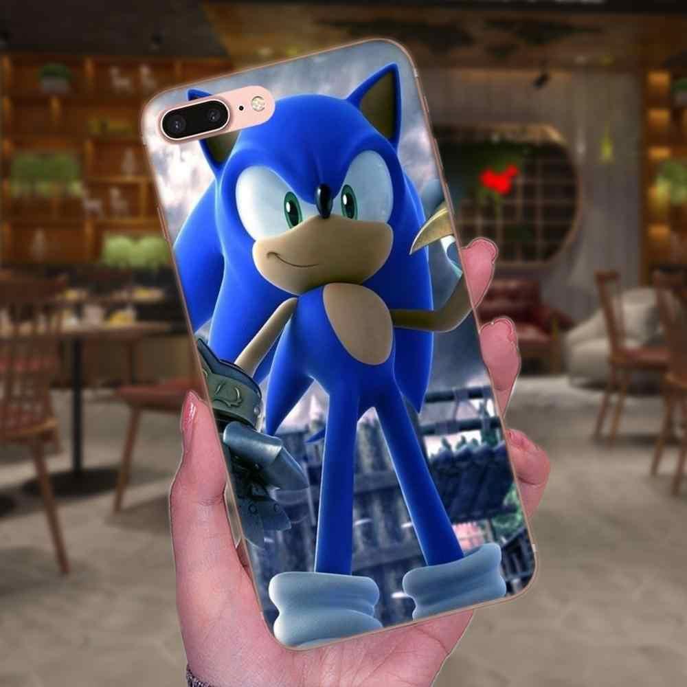 Чехлы из ТПУ для мобильных телефонов Xiaomi Redmi Note 2 3 3S 4 4A 4X5 5A 6 6A Pro Plus серии Sonic The Hedgehog