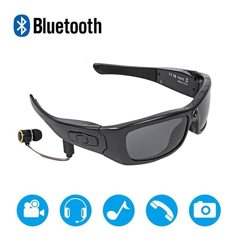 Lunettes de vélo Bluetooth lunettes de cyclisme caméra Full HD 1080 P caméra numérique enregistrement vidéo lunettes polarisées pour le Sport
