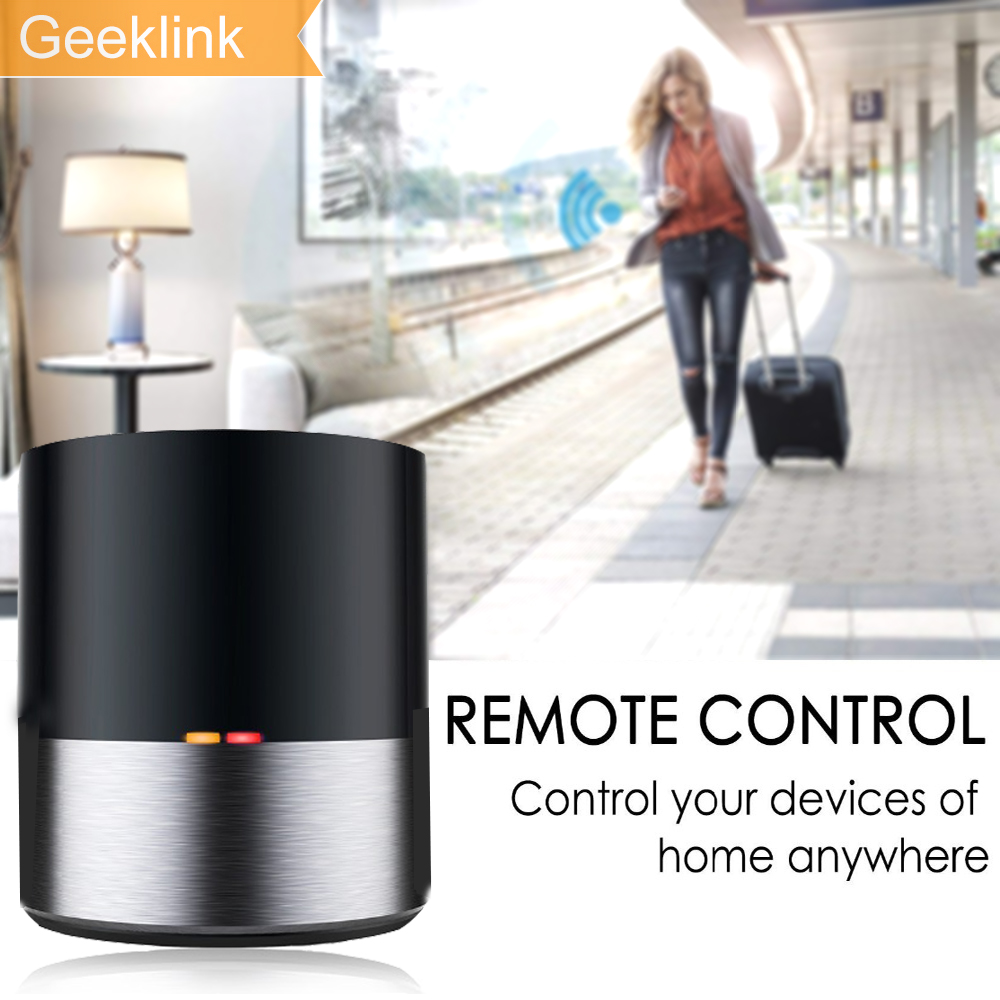 Geeklink Smart Home WIFI+IR+4G Universal Remote Control iOS Android Siri  Voice Control New Geeklink Smart Home WIFI+IR+4G