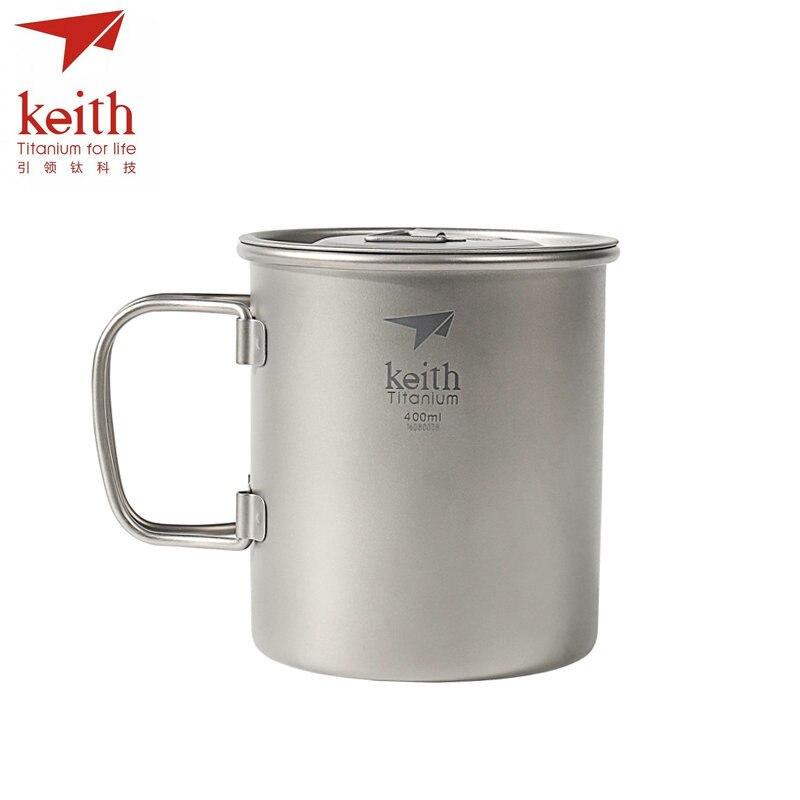 Keith Extérieure tasse en titane
