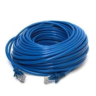 30m 100'FT RJ45 EIA/TIA-568B Category 5e CAT-5e 5 Ethernet Patch Network Cable Retail & Wholesale