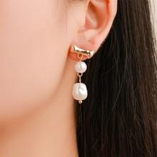 Classic Stud Earrings for Women Personality Trendy Retro Earrings Girl Metal Irregular Tassel earring jewelry 2019 WD125 цены