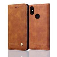 Luxury Flip   Leather     Case   For Xiaomi redmi Note 5 Pro   Case   Wallet Pouch Style Cover For Global Version Redmi Note 5 Phone   Cases