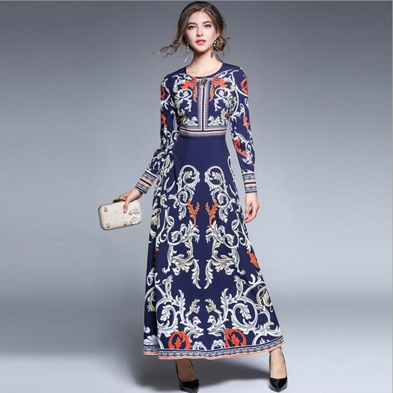 5e6fdda58fc9c Printemps-nouvelle-mode-femme-automne-imprimer-col-rond-diamant-robe -manches-longues-livraison-gratuite-z-5.jpg