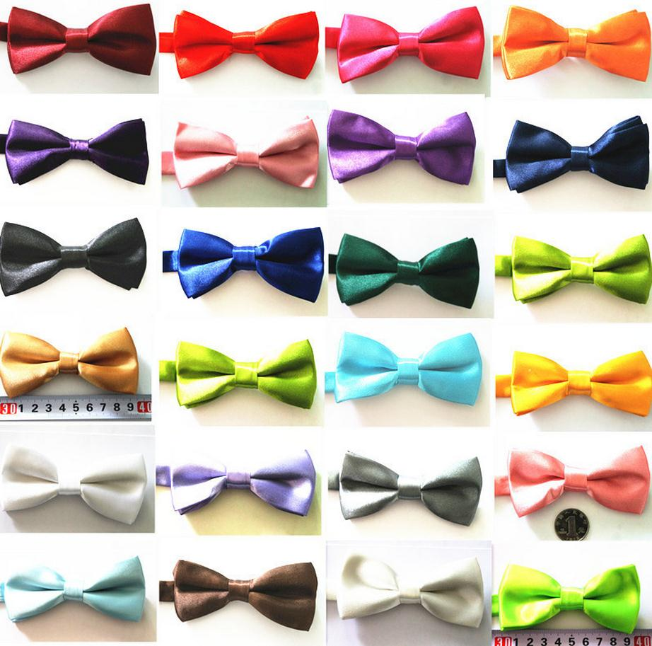 Jungen Zubehör 1000pcs/lot Children Plain Bowtie/kids Tuxedo General Party Neckties Butterfly Bow Tie Lange Lebensdauer