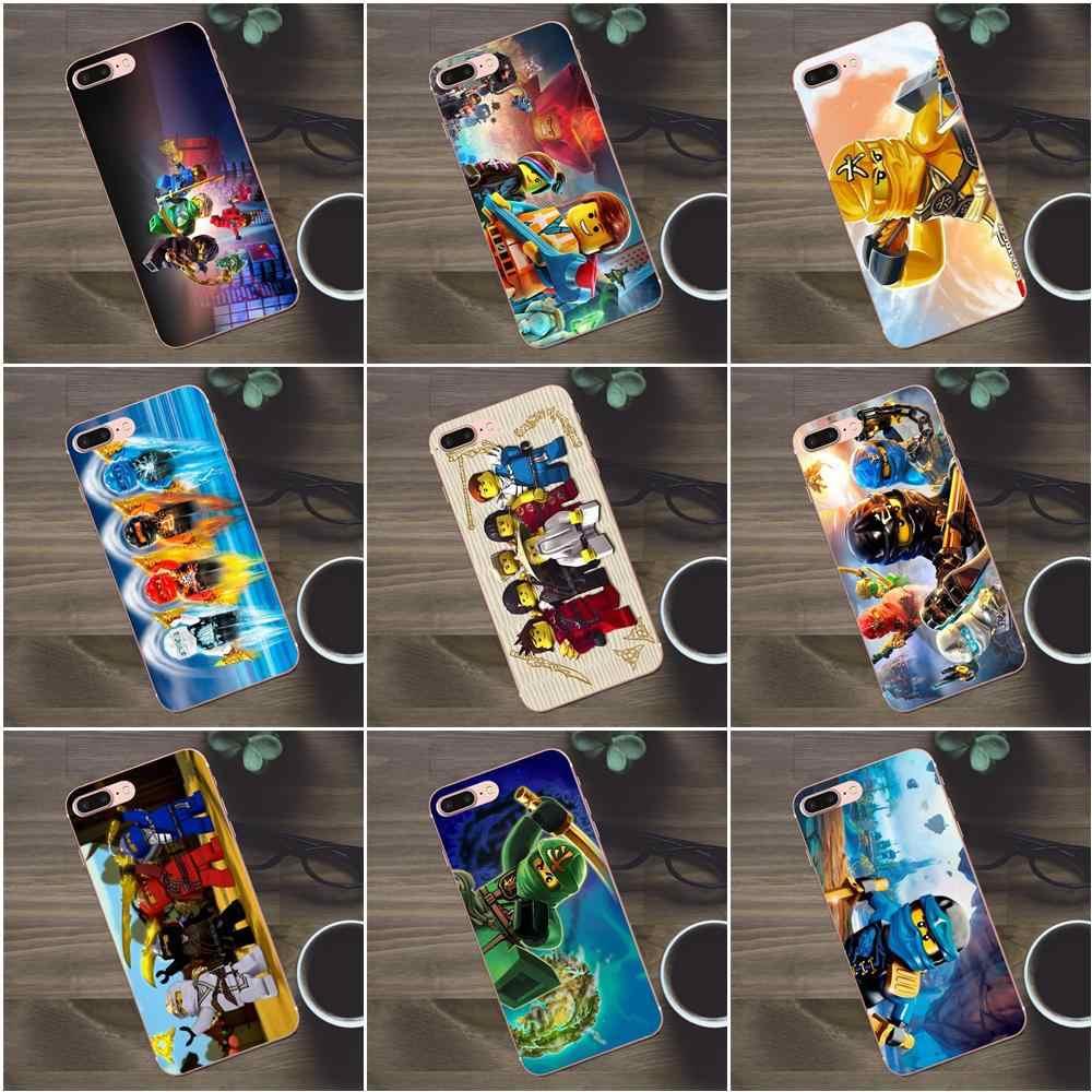 Bixedx Portable étui pour huawei G8 Honneur 5C 5X6 6X7 8 9 Y5II Mate 9 P7 P8 P9 P10 P20 Lite Plus 2017 Lego Ninjago