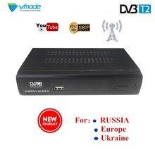 2018 SET TOP BOX Terrestrial receiver HD Digital DVB T2 M2 TV Tuner Receivable MPEG4 DVB