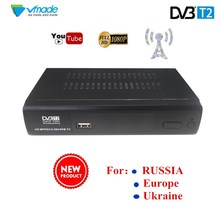 2018 SET TOP BOX Terrestrial receiver HD Digital DVB T2 M2 TV Tuner Receivable MPEG4 DVB-T2 TV Receiver T2 Tuner Free Shipping
