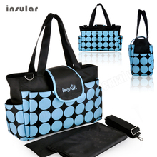 Free shipping Baby Diaper Bag Women s Changing Bags for Moms Handbags Multi Function Mommy bag